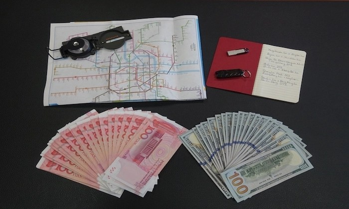 Here's the everyday-carry for Australian cyberspies in China