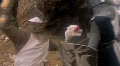 The Covid pandemic in the US, as explained by the Killer Rabbit of Caerbannog