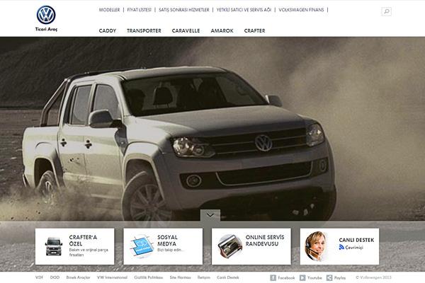 Volkswagen Ticari Araç'ın yeni web sitesi göz hareketlerini takip ediyor 1
