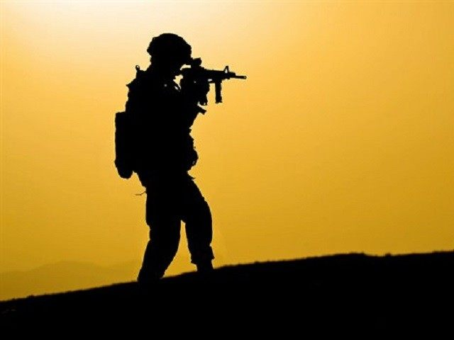 Soldier Silhouette Reuters