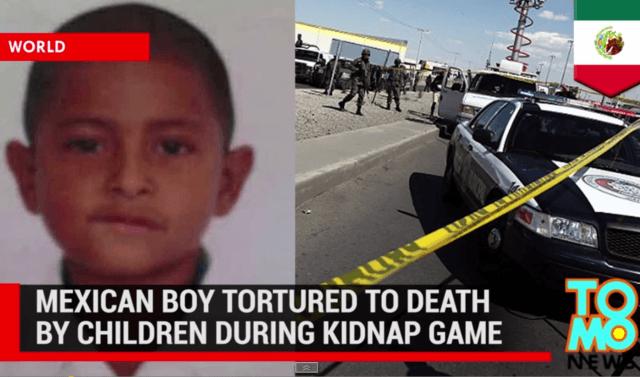 Mexican Boy Tortured
