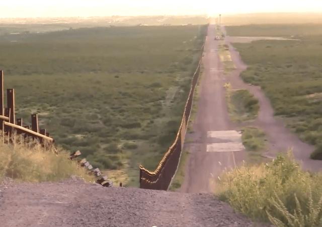 Border Fence in Arizona