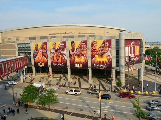 Image result for quickens loan arena GETTY IMAGE