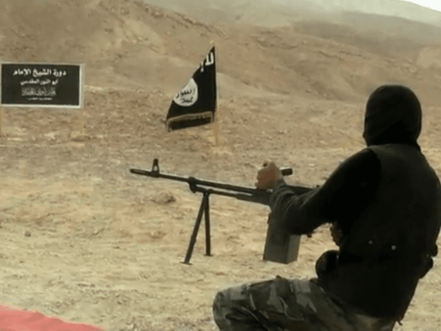ISIS terrorist training camp in Egypt's Sinai Peninsula.