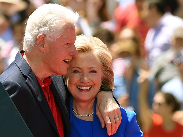 Image result for hillary and bill clinton 2016