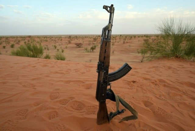 AK-47 assault rifles as well as M16 rifles and light machine guns are some of the 5,000 firearms to be destroyed in Sierra Leone