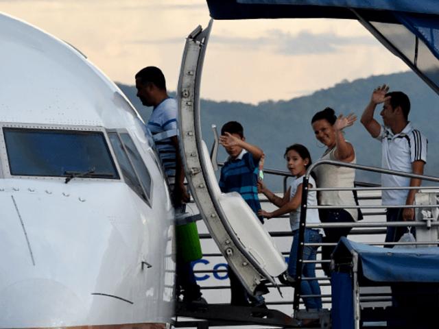 Airfare for Cuban Migrants