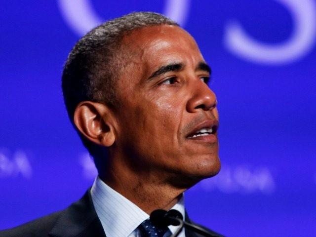 US President Barack Obama speaks at the SelectUSA Investment Summit at the Washington Hilton on June 20, 2016 in Washington, DC.