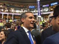 Garcetti at DNC (Joel Pollak / Breitbart News)