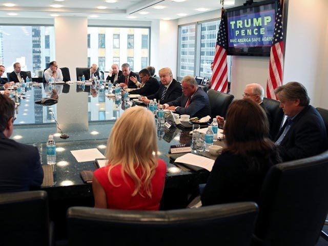 Trump Holds National Security, Law Enforcement Roundtable at Trump Tower