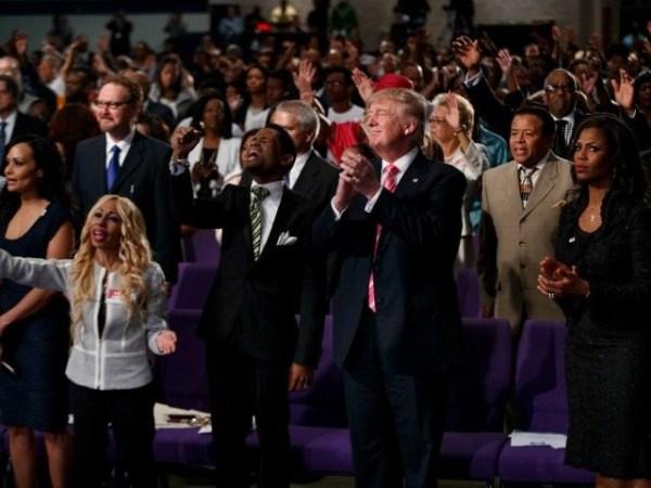 Trump Tells Black Church: 'We Need a Civil Rights Agenda ...