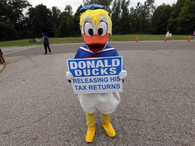 Donald Duck Trump (Gerald Herbert / Associated Press)