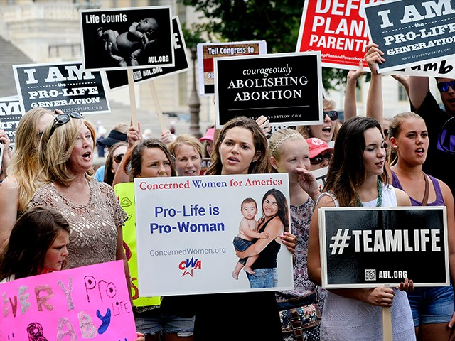 Pro life Abortion Protesters Prolife July 28 2015 DC Getty