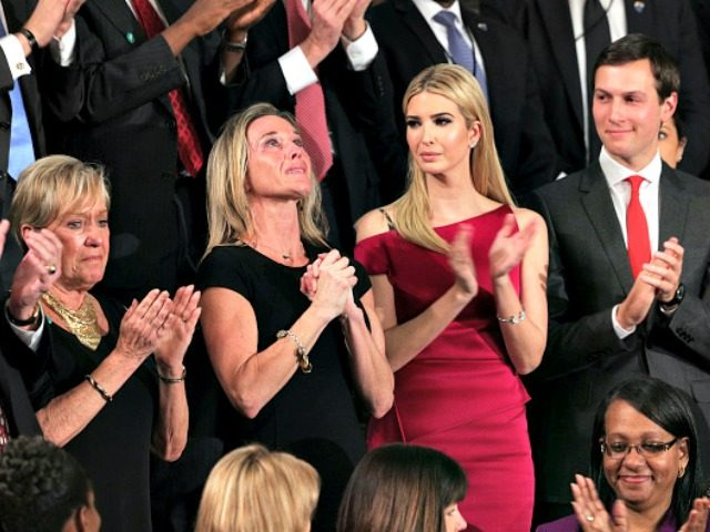 "Image result for PHOTO OF Carryn Owens, the widow of Navy SEAL William ""Ryan"" Owen"