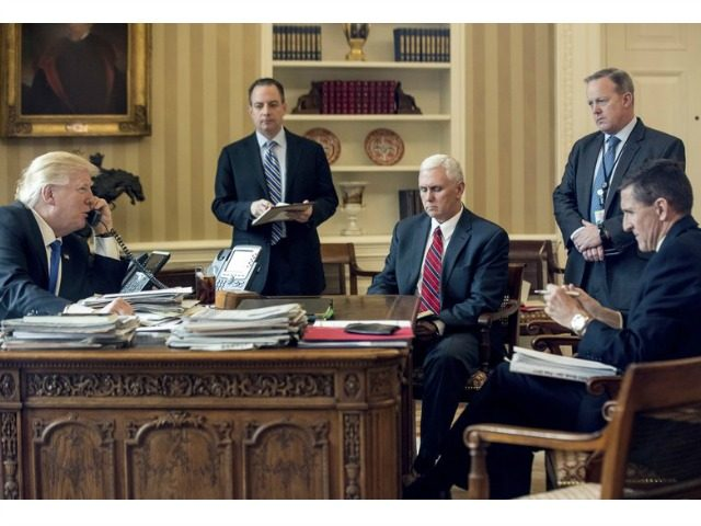 Image result for PHOTOS OF TRUMP AND SPICER