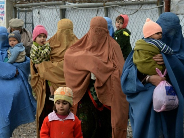 afghan refugees in pakistan peshawar getty