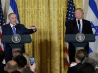 President Donald Trump andIsraeli Prime Minister Benjamin Netanyahu at the White House, Wednesday, Feb. 15, 2017, in Washington. (AP Photo/Evan Vucci)