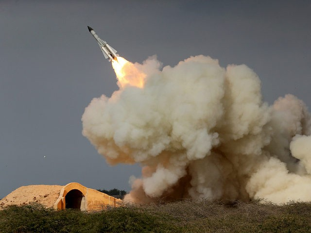 "FILE -- In this Dec. 29, 2016 file photo, released by the semi-official Iranian Students News Agency (ISNA), a long-range S-200 missile is fired in a military drill in the port city of Bushehr, on the northern coast of Persian Gulf, Iran. President Donald Trump's national security adviser, Michael Flynn, has said the U.S. is ""putting Iran on notice"" after it test-fired a ballistic missile earlier this week. Iran has test-fired various ballistic missiles since the July 2015 nuclear deal and it's unclear, from a technological standpoint, what is different about the latest launch. (Amir Kholousi, ISNA via AP, File)"