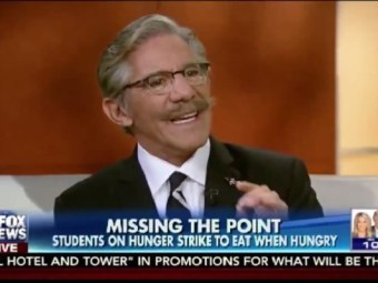 Geraldo Rips Yale Student 'Symbolic Hunger Strike' - Everything Wrong With 'Millennial Activism,' 'Activism Without Sacrifice' - Breitbart