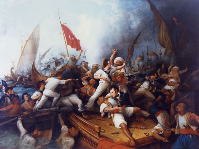 Barbary Wars (Dennis Malone Carter / Naval Historical Center / Wikimedia Commons)
