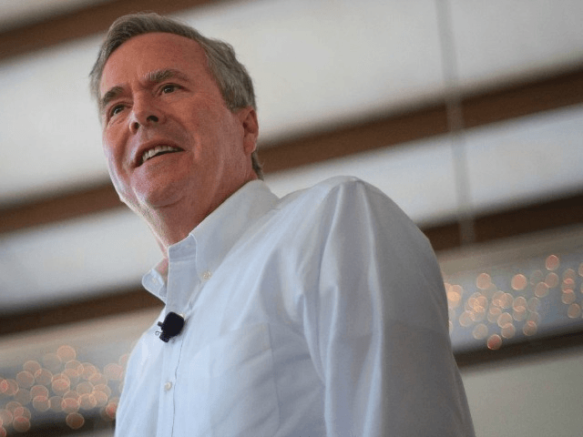 Jeb Bush, pictured in 2016, says President Trump has made some good appointments but questions his style