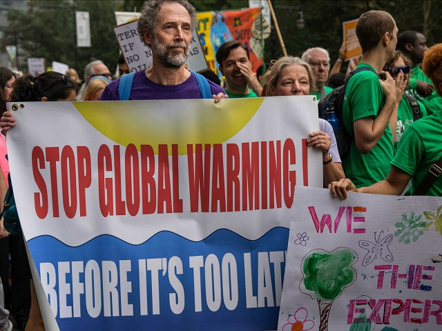 global warming protest