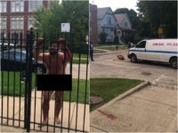 GRAPHIC VIDEO: Naked Chicago Man with Self-Inflicted Penis Wound Rushes Police