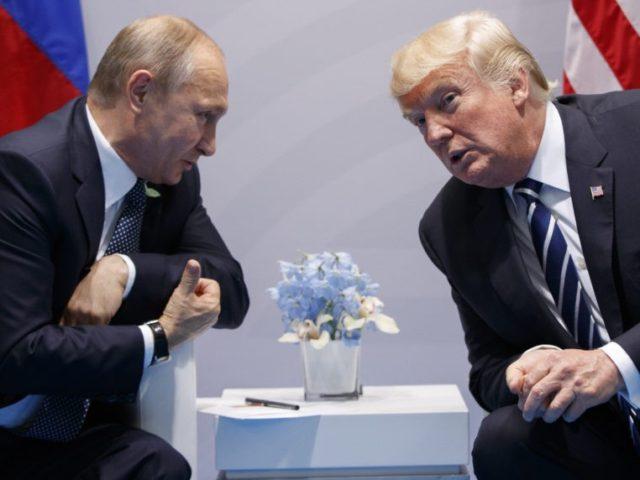 Доналд Трамп, Владимир Путин