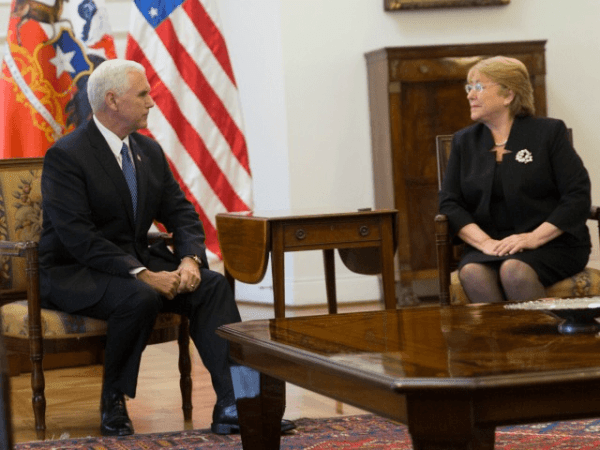Mike Pence Asks Latin American Leaders to Cut Ties with ...