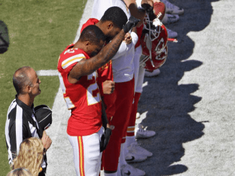 NFL Ratings Down Big on Opening Night Amid Renewed Anthem Protests - Breitbart