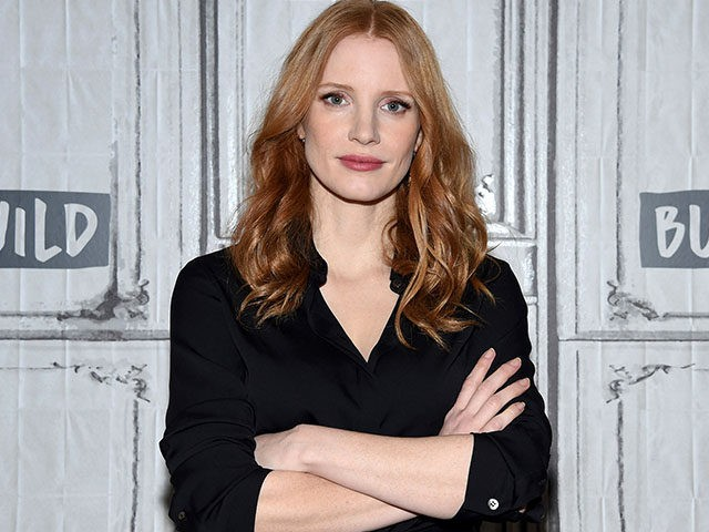"""Actress Jessica Chastain participates in the BUILD Speaker Series to discuss the film """"The Zookeeper's Wife"""" at AOL Studios on Tuesday, March 21, 2017, in New York. (Photo by Evan Agostini/Invision/AP)"""