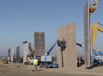WATCH: Border Wall Prototypes Almost Complete | Breitbart