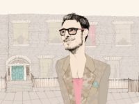 An illustration of a hipster who might choose to attend a