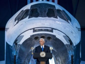 Vice President Pence Confirms NASA to Refocus on Moon Missions | Breitbart