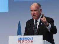 Jerry Brown climate change (Patrik Stollarz / AFP / Getty)