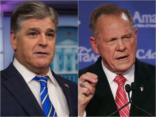 Judge Moore Sends Defiant Open Letters to Hannity After ...