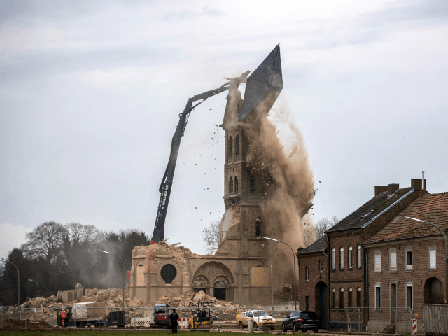 PICTURES: Historic German Church Demolished as Mosques Multiply Across the Country