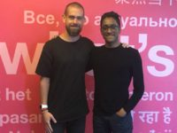 Ali Akbar and Twitter CEO Jack Dorsey