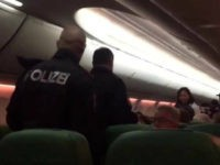 Four passengers were removed from a Transavia Airlines flight from Dubai to Amsterdam after a fight broke out over a man's flatulence.