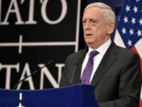US Secretary of Defence James Mattis tells reporters NATO has struck and understanding with the EU on defence ties