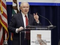 Jeff Sessions in Sacramento (Rich Pedroncelli / Associated Press)