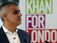Labour's London mayoral election Sadiq Khan addresses members of the media during a press conference at West Thames College on February 2, 2016 in London, England.