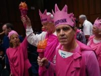 Code Pink (Chip Somodevilla / Getty)
