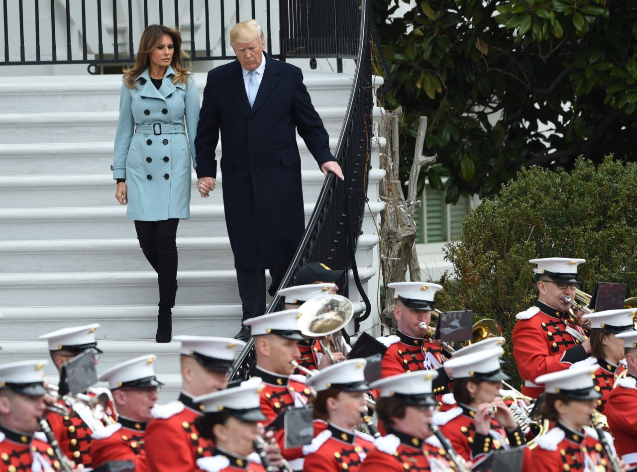 Image result for image, photo, ;picture, america's own, marine band, president trump
