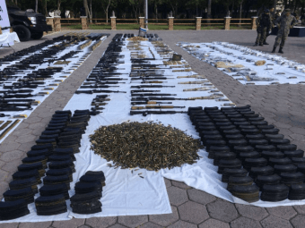 Mexican Military Seizes Cartel's Rocket Launchers, Dynamite, Grenades near U.S. Border