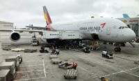 Asiana is South Korea's second largest airline