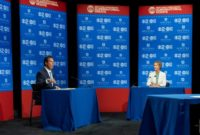 New York Governor Andrew Cuomo and his challenger for the state's Democratic gubernatorial nomination, actress and activist Cynthia Nixon, frequently sparred during their debate Wednesday