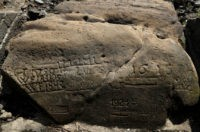 Drought reveals ancient 'hunger stones' in European river