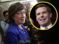O deputado democrata Eric Swalwell zomba de ameaças contra a equipe do senador Collins