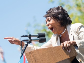 Watch: Maxine Waters Shouts 'Impeachment' Eight Times in a Row